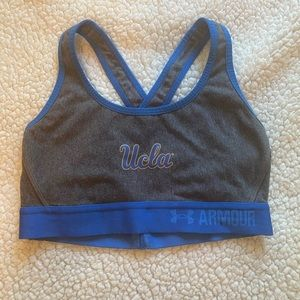 UCLA Under Armor sports bra